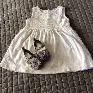 👸🏻 Sweet White Dress/Shoes